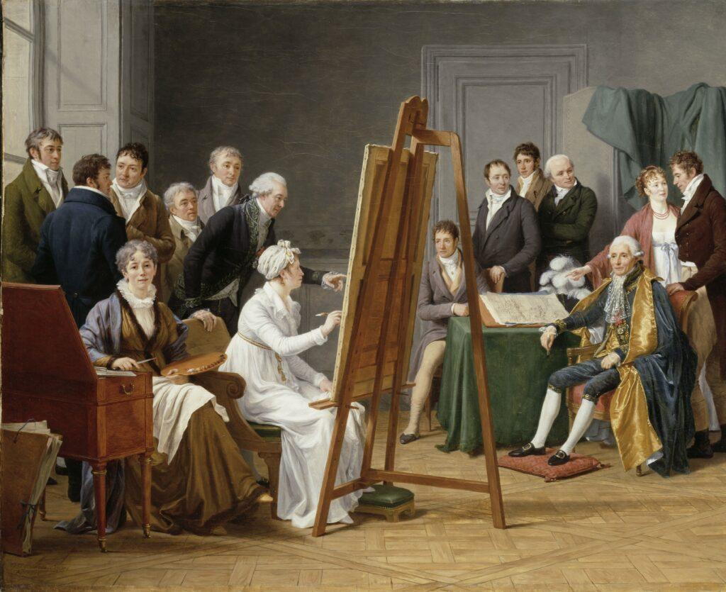 Marie-Gabrielle Capet, L'atelier de Madame Vincent en 1800, 1808