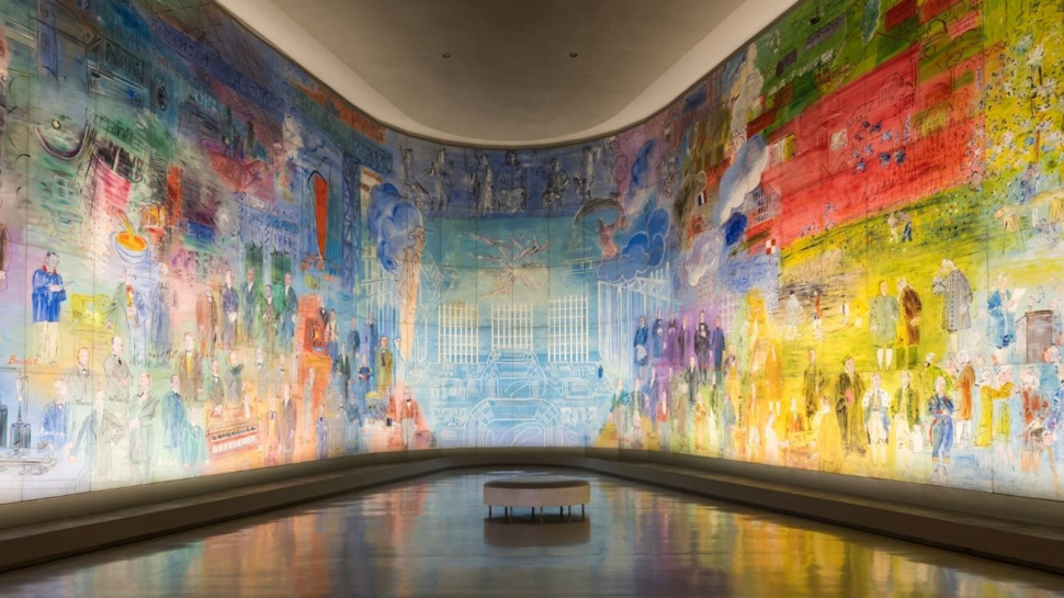 La Fée Electricité de Raoul Dufy au musée d'Art moderne de Paris