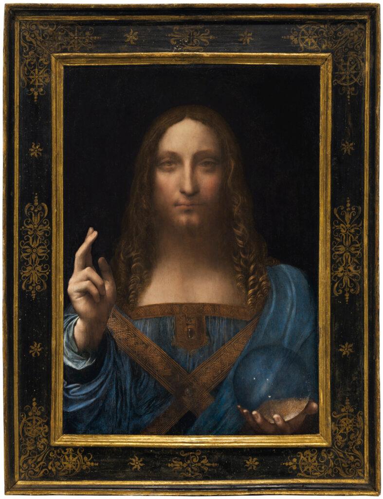 Salvator Mundi, attribué à Léonard de Vinci, vers 1500