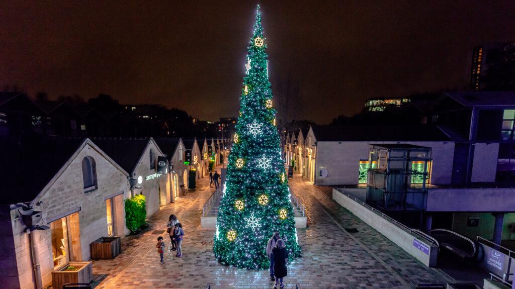 Sapin de Noël de Bercy Village