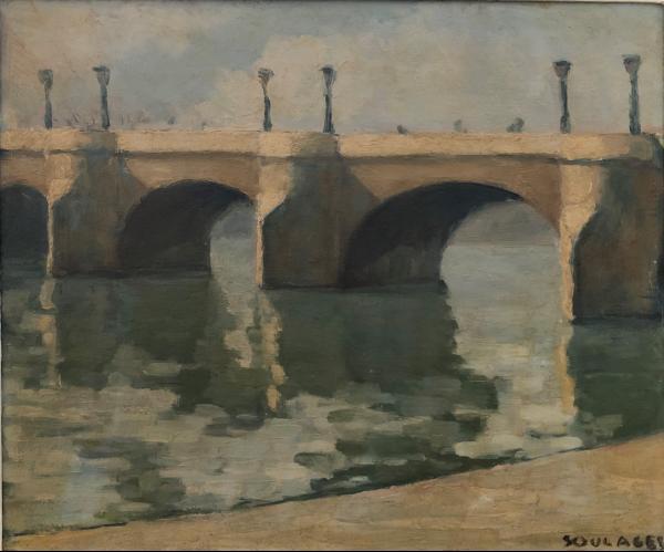 Soulages, Le Pont Neuf, 1939