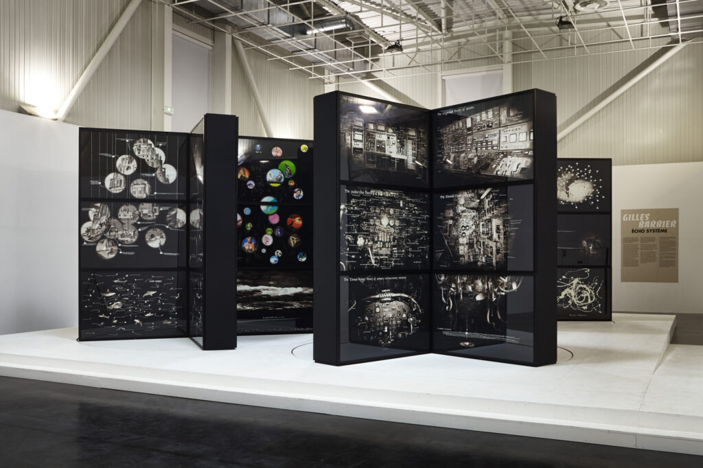 Installation de Gilles Barbier, 2015