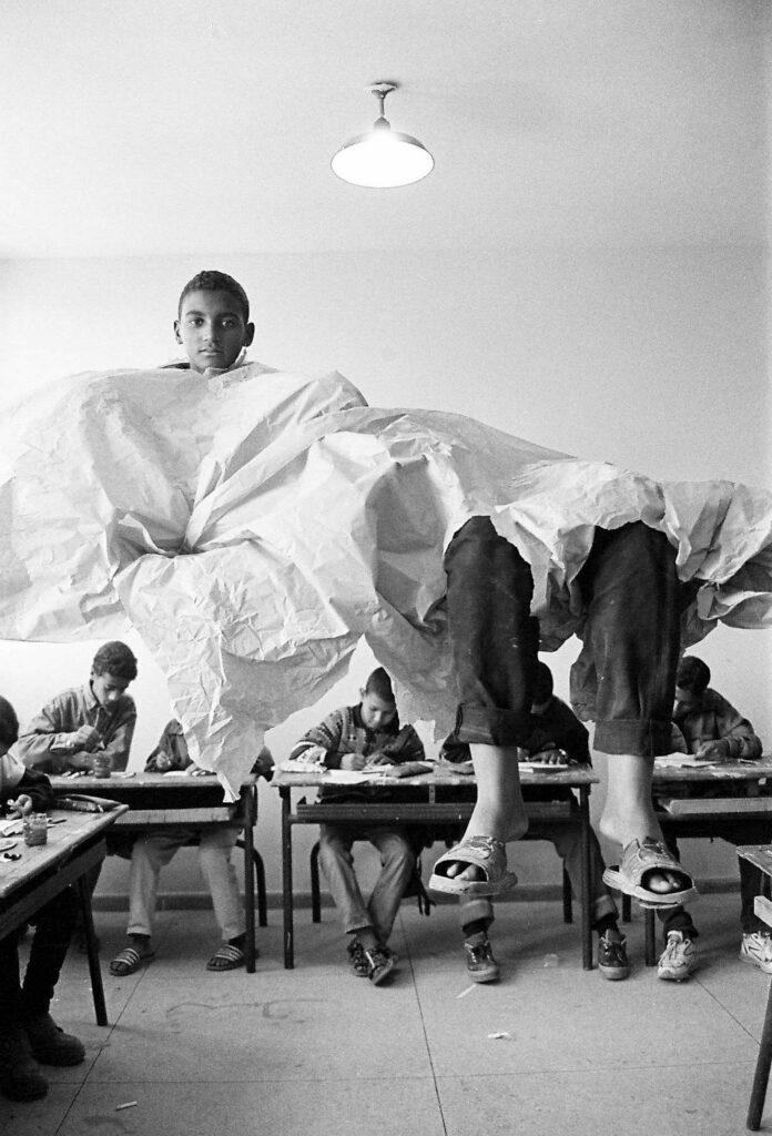 Hicham Benohoud, Série La salle de classe, 1994-2002