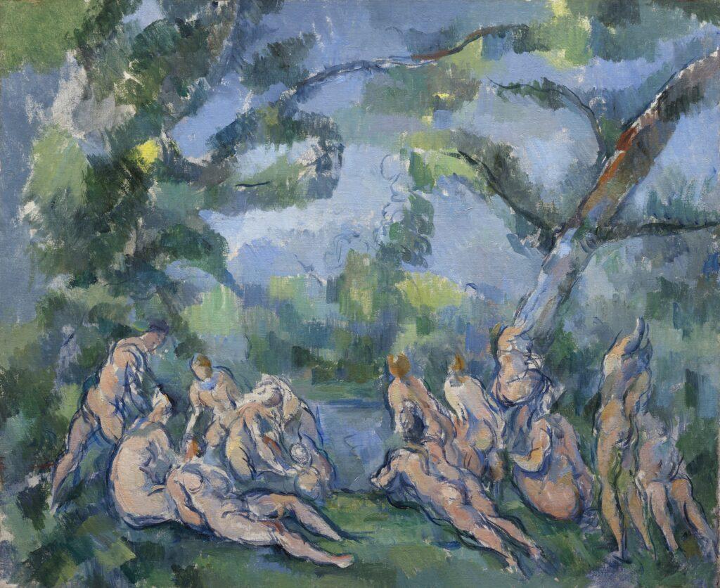 Paul Cézanne, Les Baigneurs, 1899-1904
