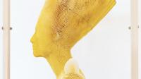 Buste Néfertiti abeilles