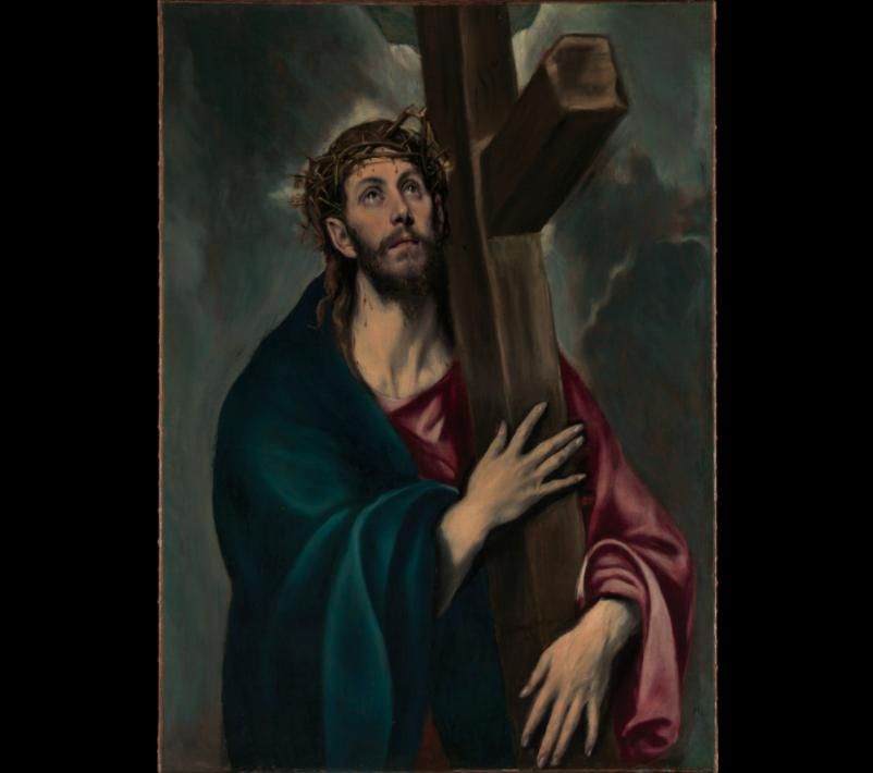 Le Christ portant la croix, Le Greco, 1577-1587