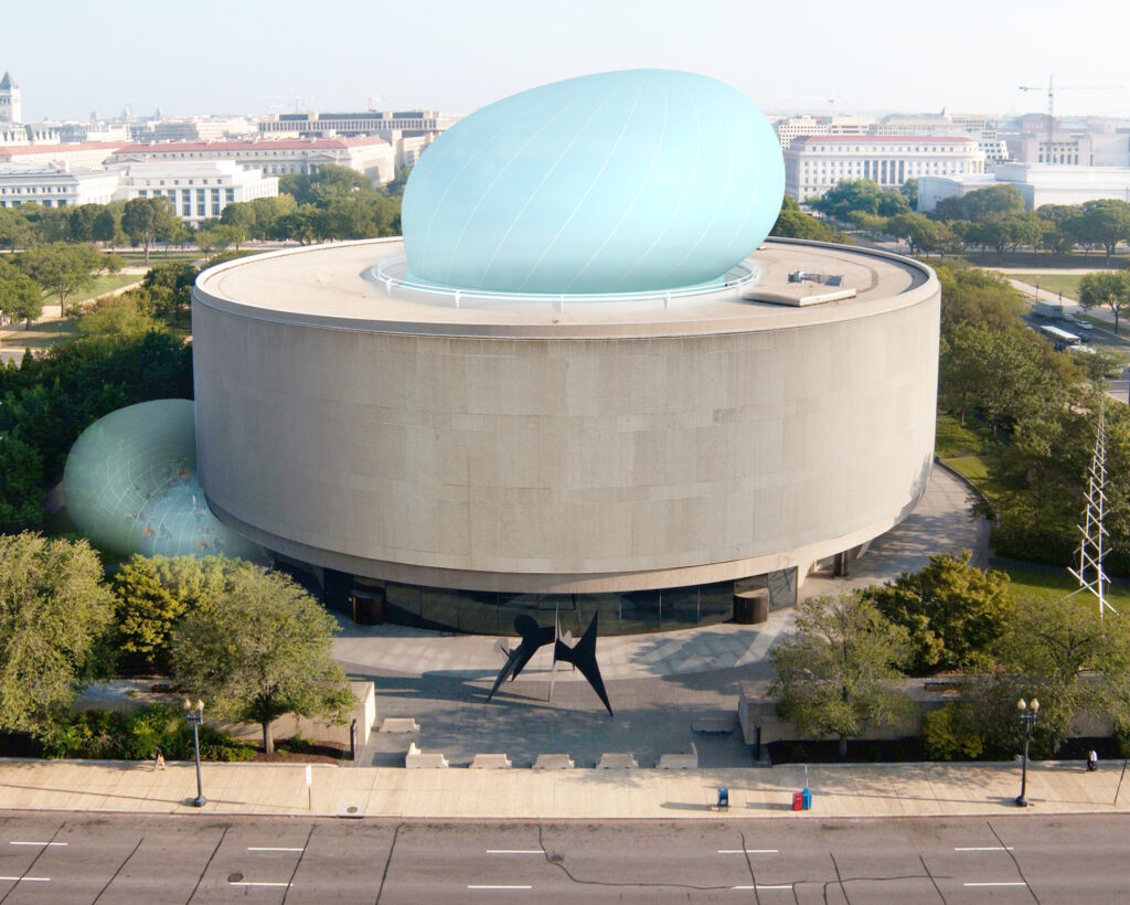 Diller Scofidio + Renfro, Bubble: Hirshhorn Museum and Sculpture Garden