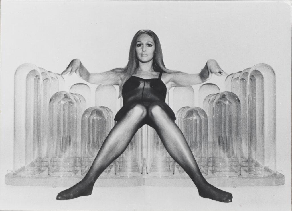 Gernot Nalbach, Pneumatic furnishing carpet, 1967