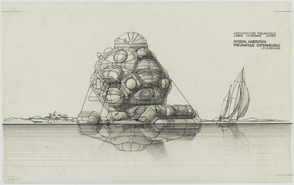 Jean-Paul Jungmann, Dyodon flottant, 1967