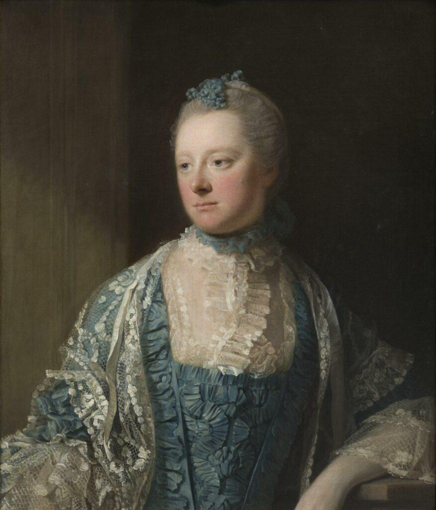 Allan Ramsay, Portrait de la comtesse Elisabeth de Salisbury, 1769