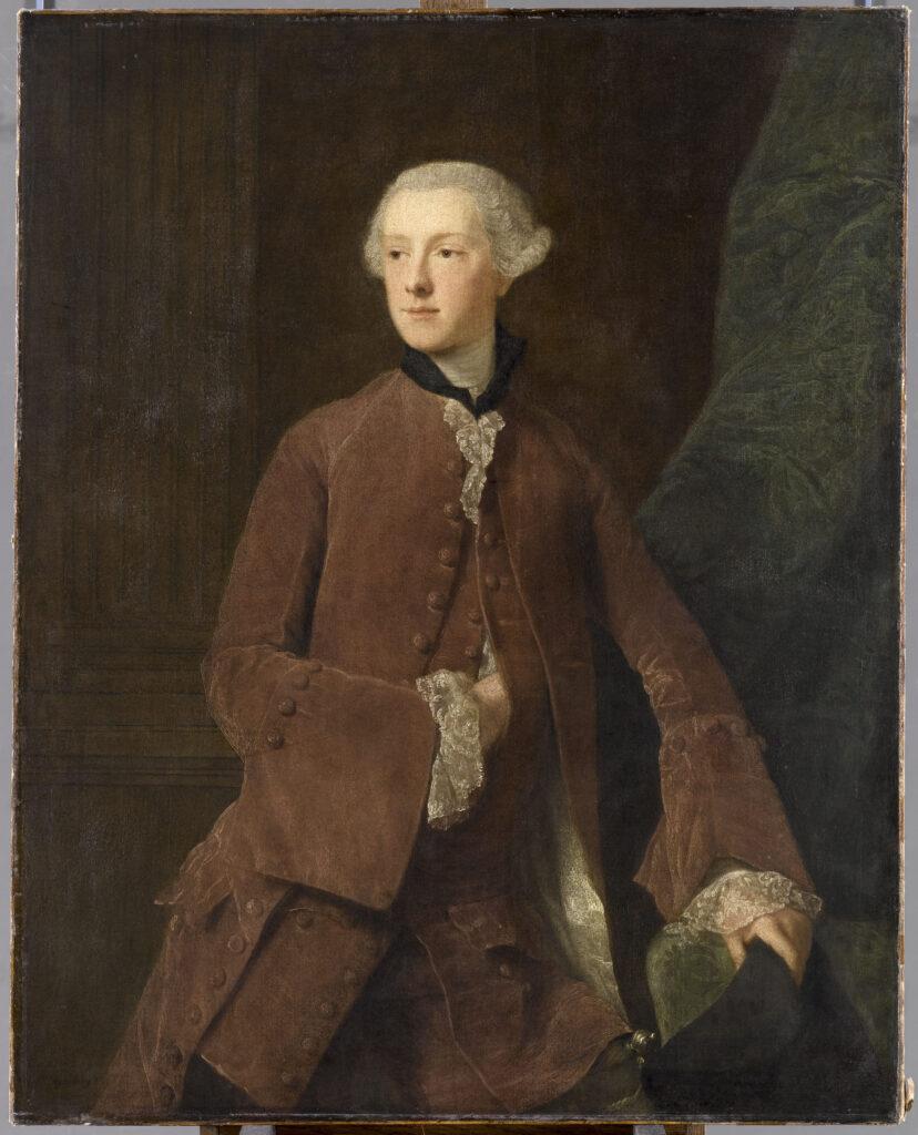 Allan Ramsay, Portrait de William Sutherland, 18ème Comte de Sutherland