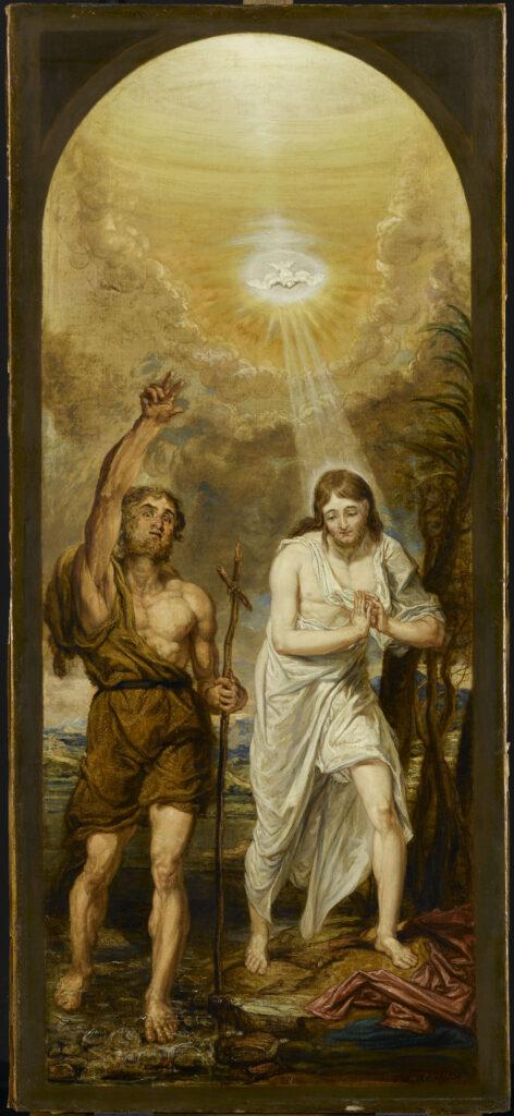 James Ward, Le Baptême du Christ
