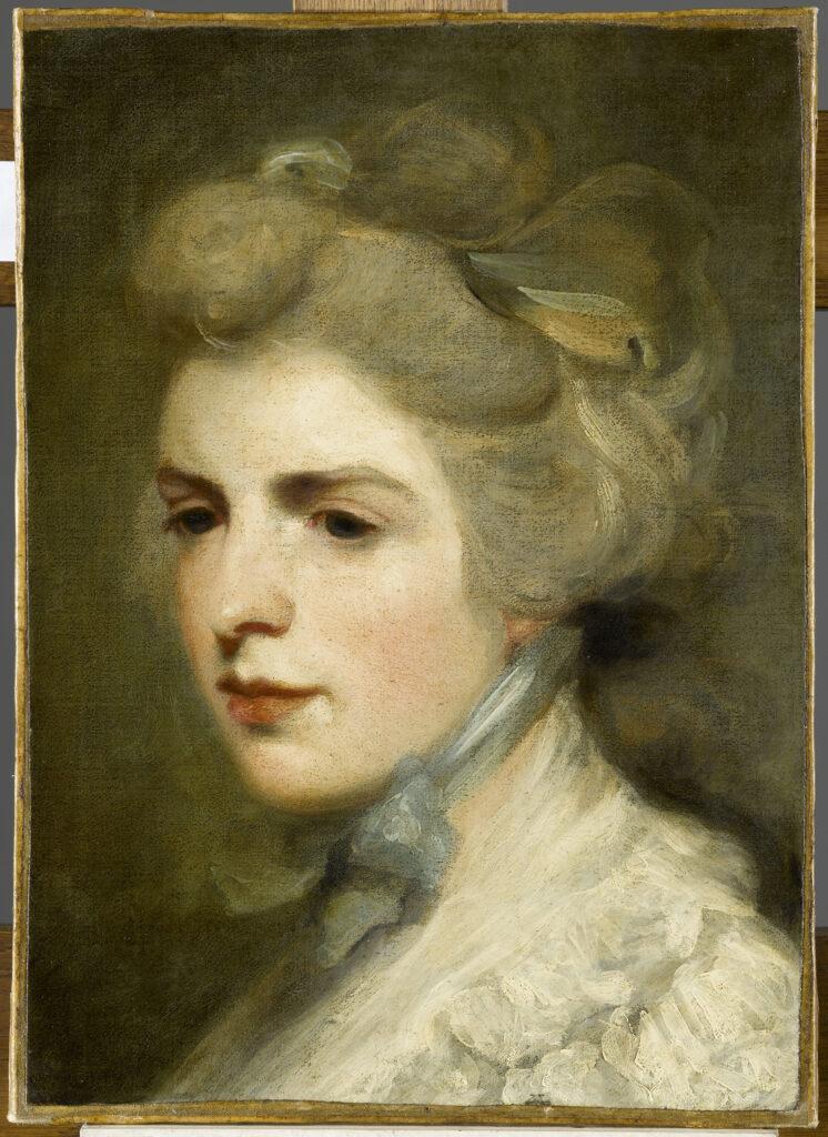 Joshua Reynolds, Miss Frances Kemble, actrice, 1784