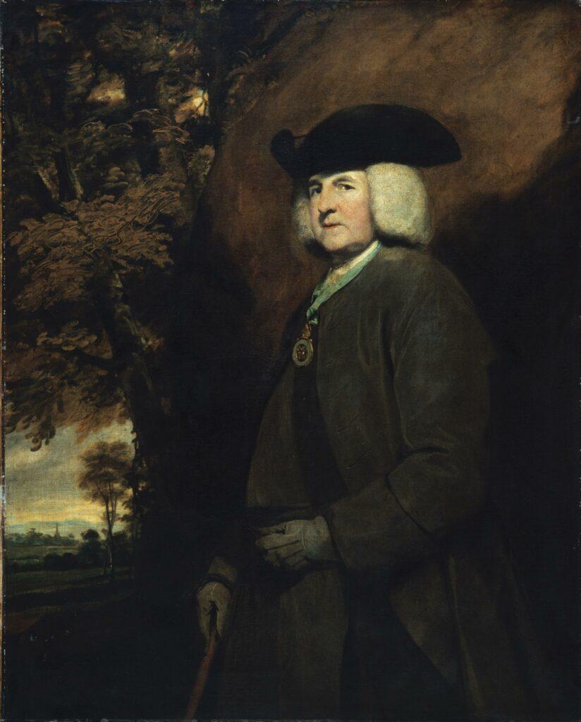 Sir Joshua Reynolds, Portrait de Richard Robinson, archevêque d'Armagh, futur baron de Rokeby et primat d'Irlande, 1771-75