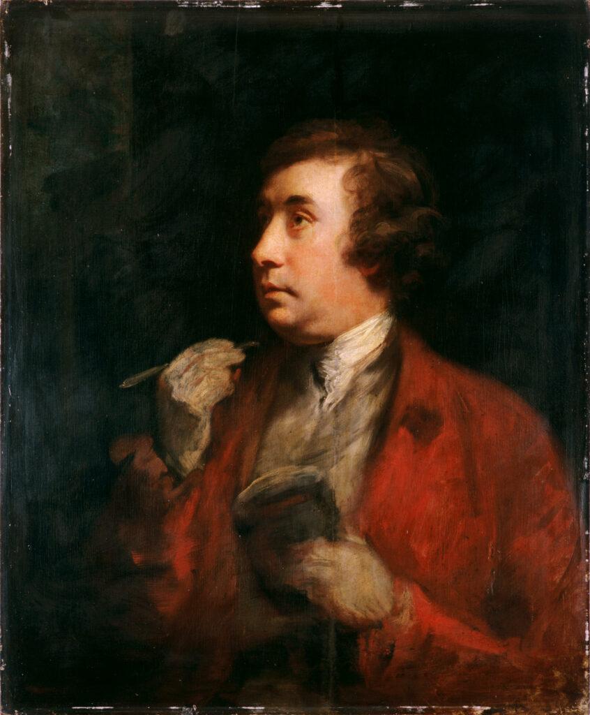 Joshua Reynolds, Portrait sir William Chambers, 1750-1760