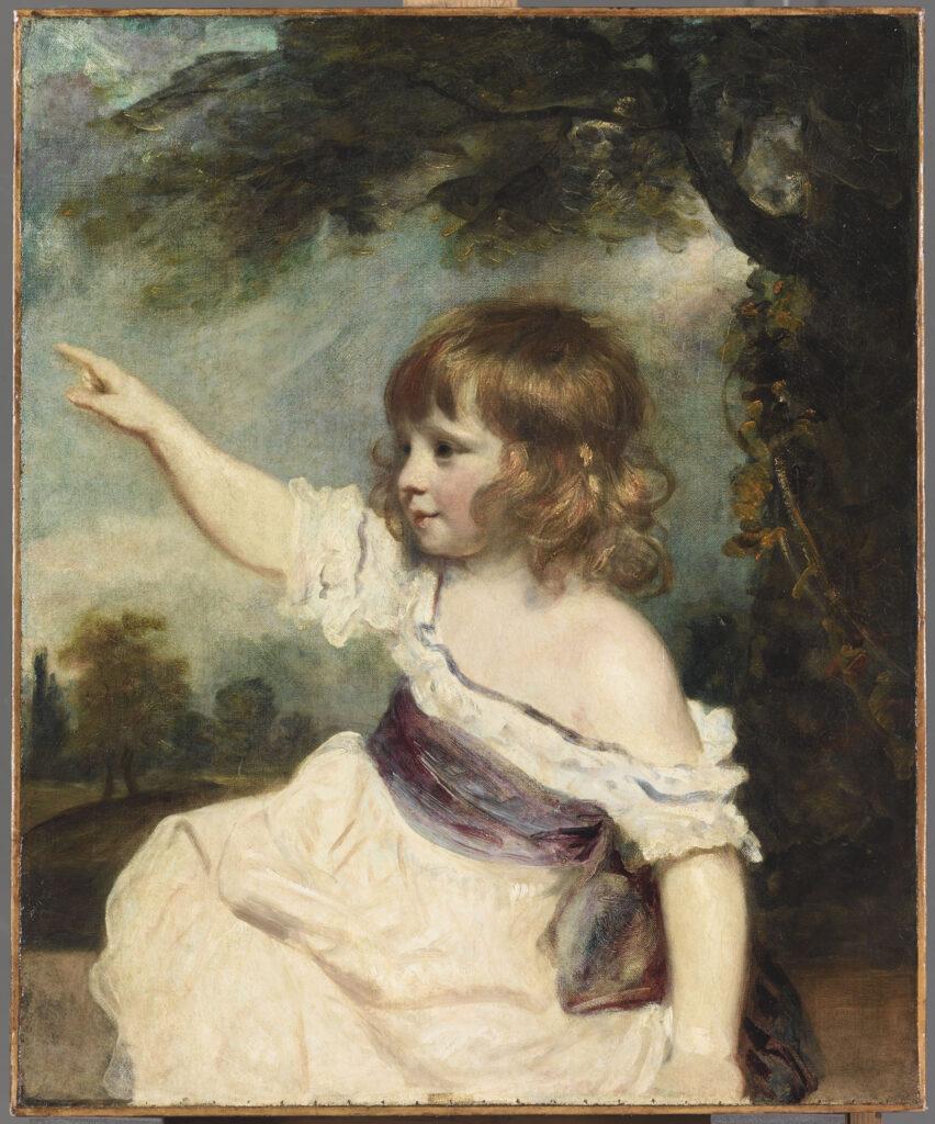 Sir Joshua Reynolds, Master Hare, 1788-89