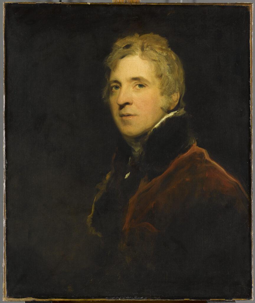 Thomas Lawrence, Portrait de Sir Georges Howland Beaumont