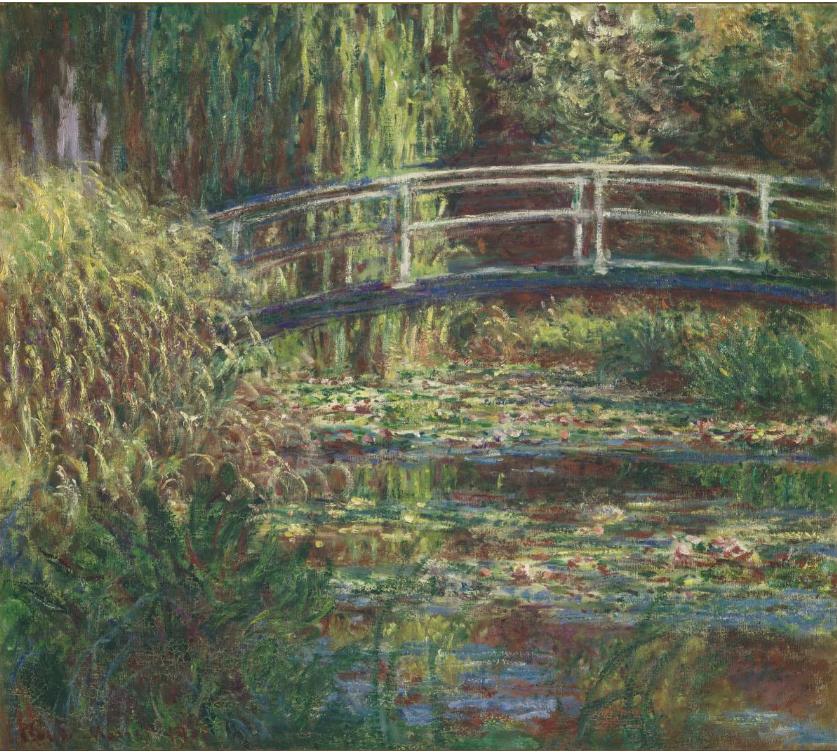 Monet, Le Bassin aux nymphéas, harmonie rose, 1900