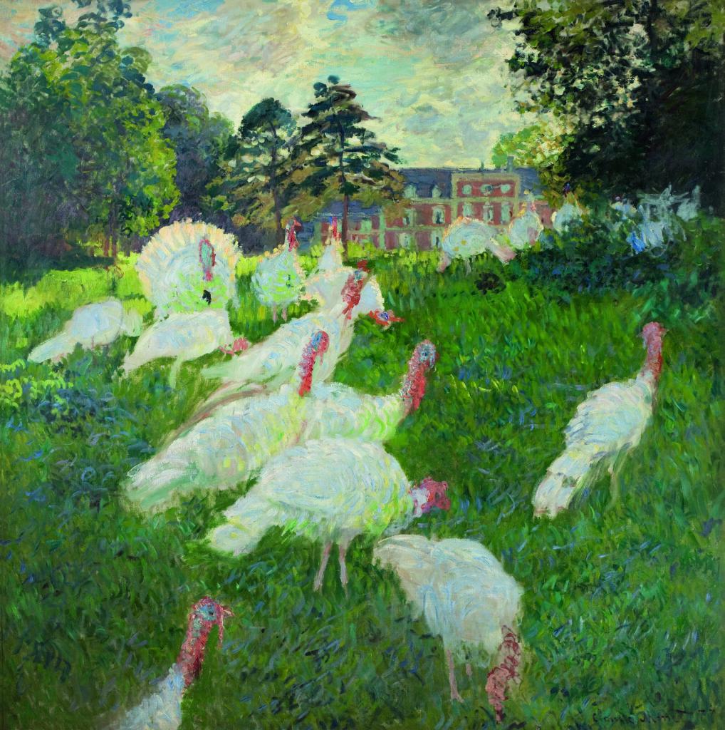 Monet, Les Dindons, 1877