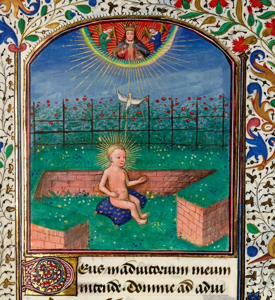L'enfant Jésus, Livre d'heures, France, milieu du XVe s.