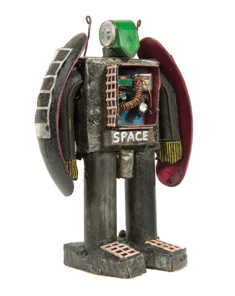 Bienvenu Nanga, 13 Robots, 2018