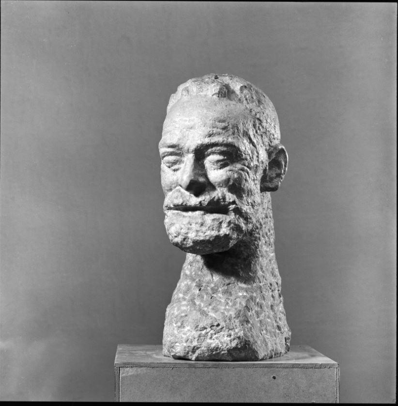 Amiet Cuno, buste de Ferdinand Hodler, 1922