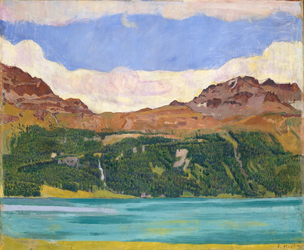 Ferdinand Hodler, Le lac de Silvaplana, 1907