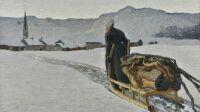 Exposition la montagne fertile, Giovanni Segantini, Retour de la forêt, 1890