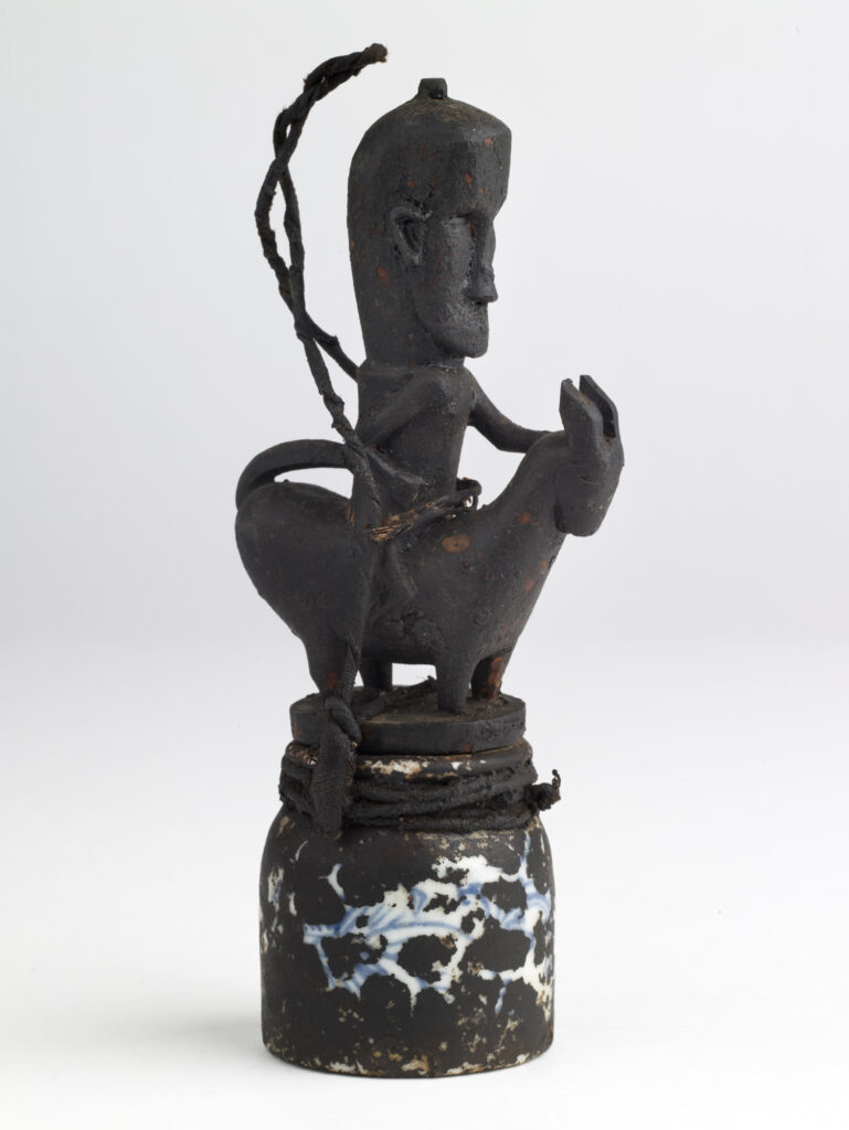Attribut du Datu Batak, Guriguri, flacon et son bouchon