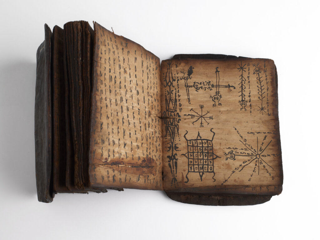 Livre de divination et de magie pustaha, seconde moitié du 19e siècle