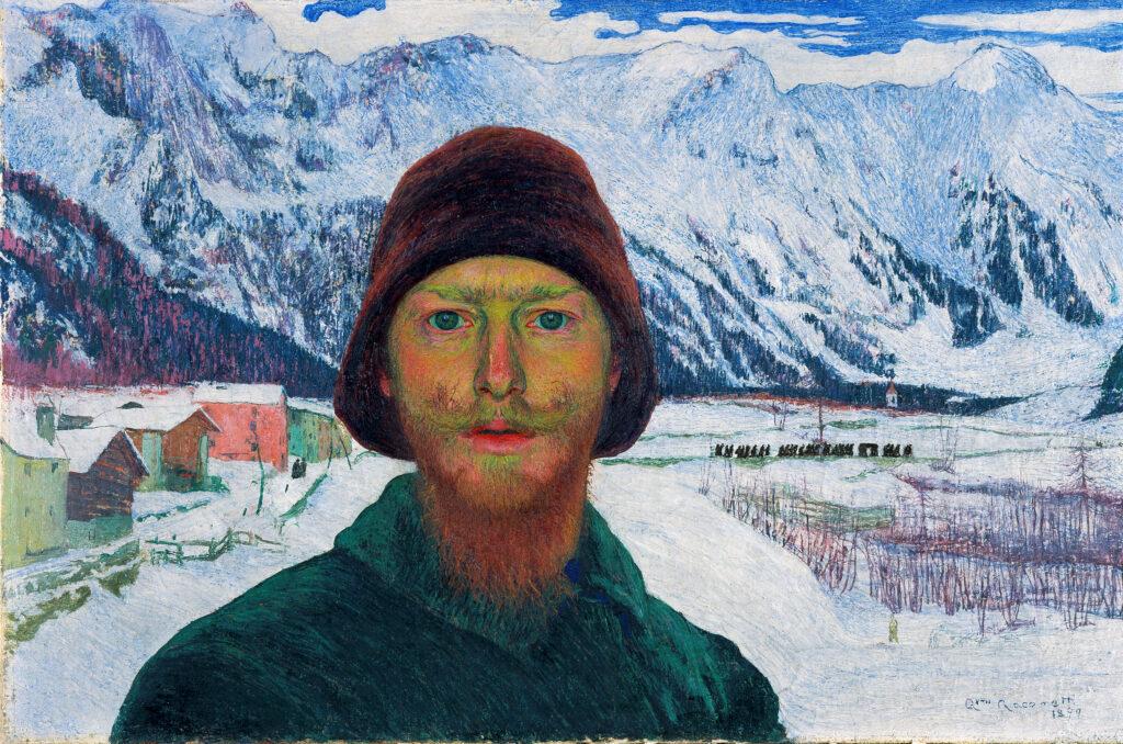 Giovanni Giacometti, Autoportrait, 1899