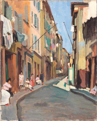 Charles Camoin, La rue Bouterie, 1904