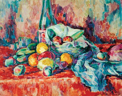 Lucie Cousturier, Nature morte fruits