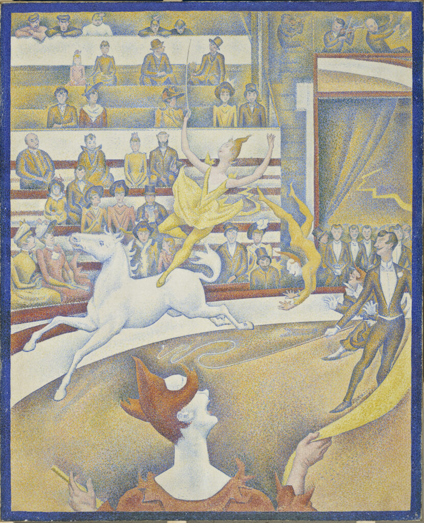 Seurat, Le Cirque, 1891
