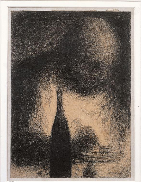 Seurat, le Dîneur, 1884