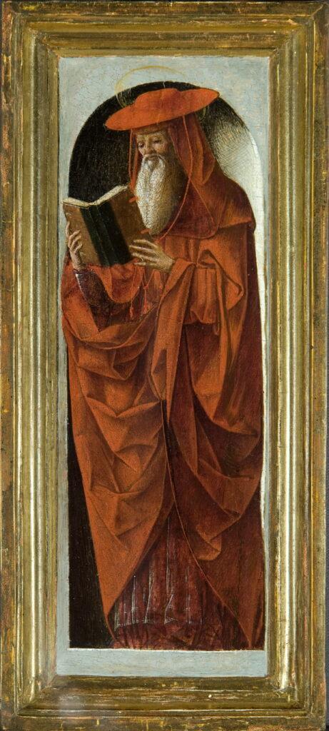 Ercole de' Roberti, Saint Jérôme, 1470-1473