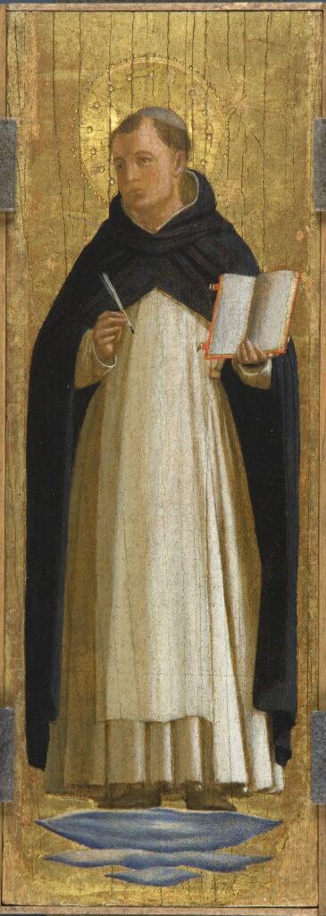 Fra Angelico, Saint Thomas d'Aquin, 1438-1440