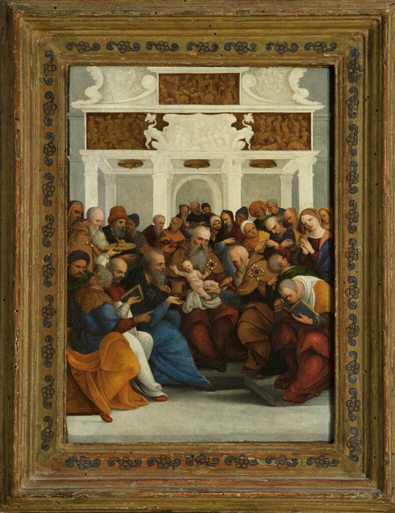 Ludovico Mazzolino, La Circoncision, vers 1522