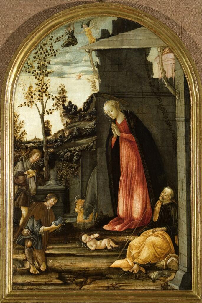 Michele Ciampanti, L'Adoration des bergers, vers 1475