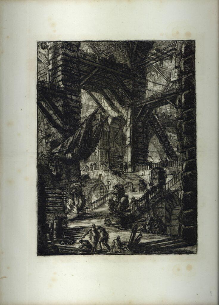 Piranèse, Prison, 1761