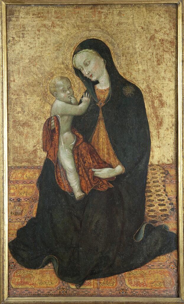 Sassetta, Vierge d'humilité, vers 1430