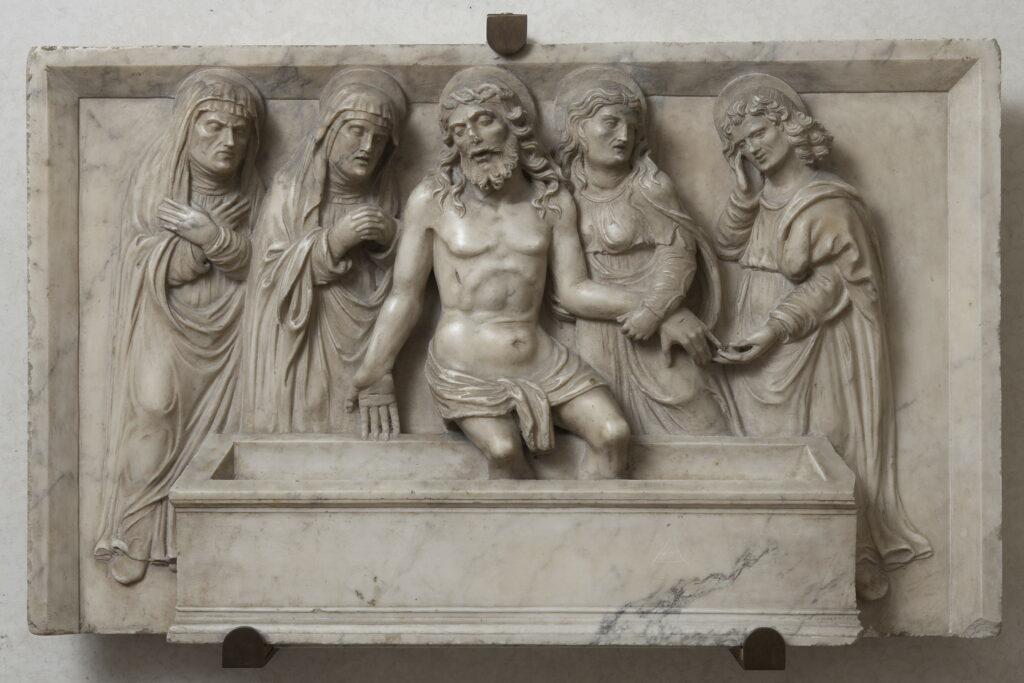 Sculpteur lombard du XVe siècle, Déploration du Christ, milieu XVe siècle
