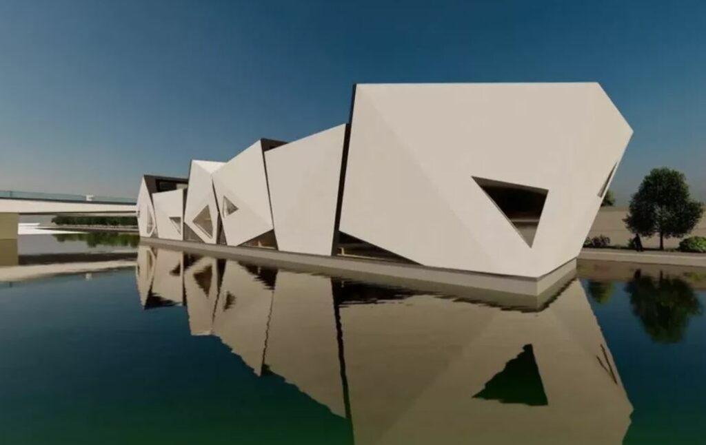 Le projet de théâtre Île Ô sur les berges du Rhône