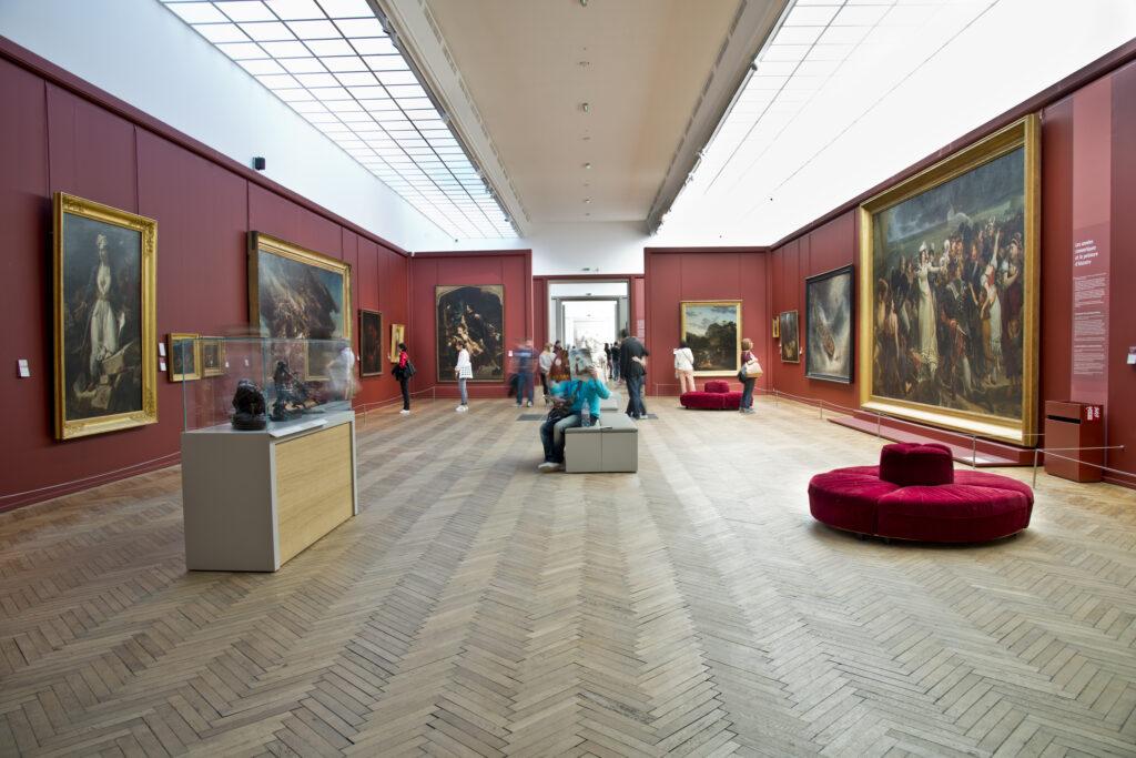 Intérieur de l'aile nord du Musée des Beaux-Arts de Bordeaux