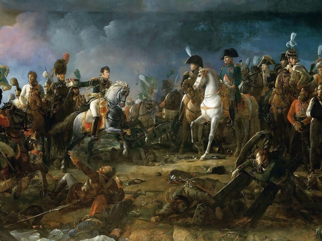 François Gérard, La Bataille d'Austerlitz, 1808