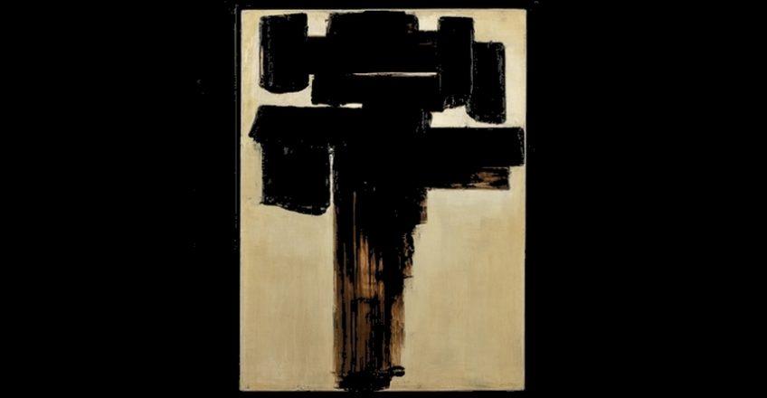 Pierre Soulages, Peinture 81 x 60 cm, 3 décembre 1956