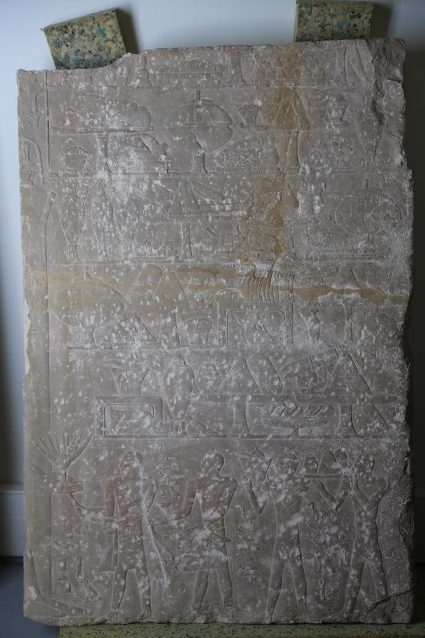 Stèle avant restauration