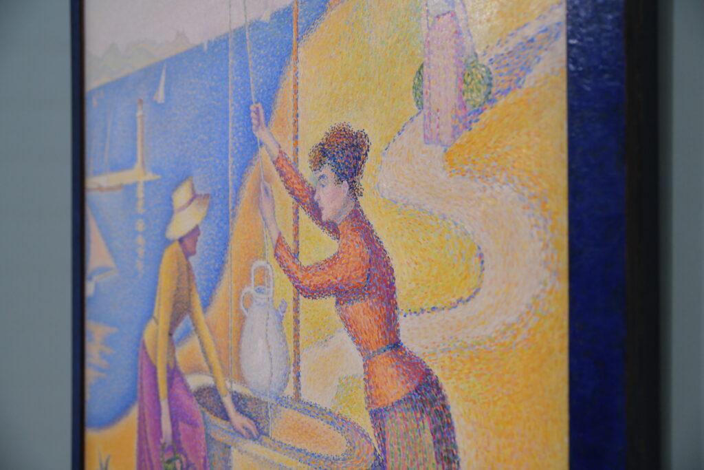 Vue de l'exposition Signac Collectionneur, musée d'Orsay