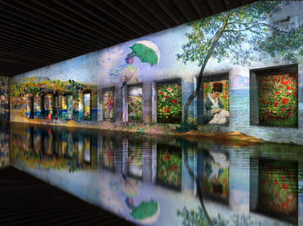 « Monet, Renoir... Chagall. Voyages en Méditerranée » - Simulation