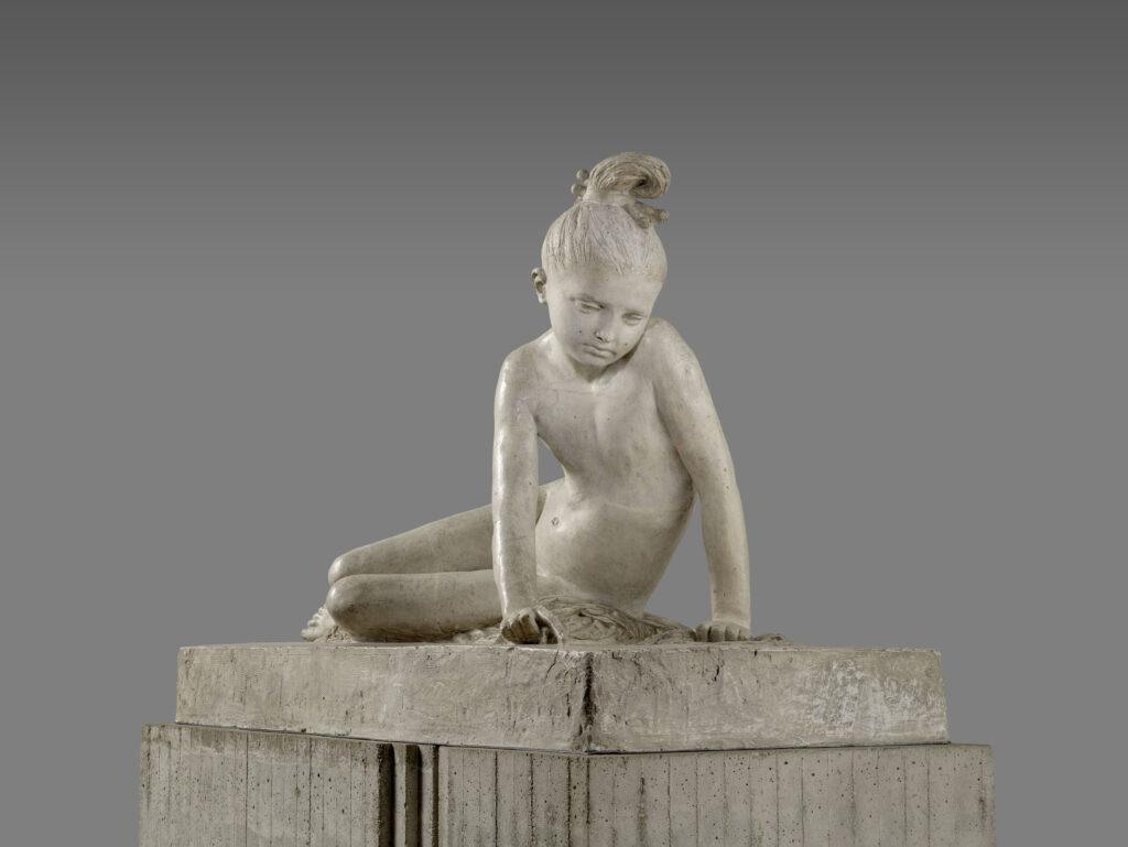 David d'Angers, Jeune grecque au tombeau de Marco Botzaris, 1827